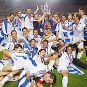 ギリシャ優勝